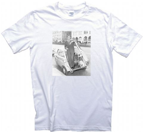 Bubble Car With Cary Grant T Shirt Adult, Ladies & Kids Sizes